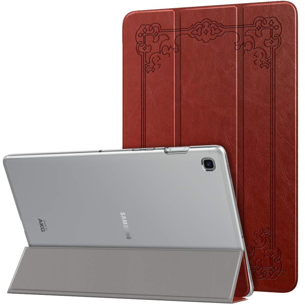 Negro Ultra Delgado Funci/ón de Soporte Protectora Plegable Cubierta Inteligente Trasera Transparente para Galaxy Tab S5e SM-T720//SM-T725 2019 MoKo Funda Compatible con Samsung Galaxy Tab S5e 2019