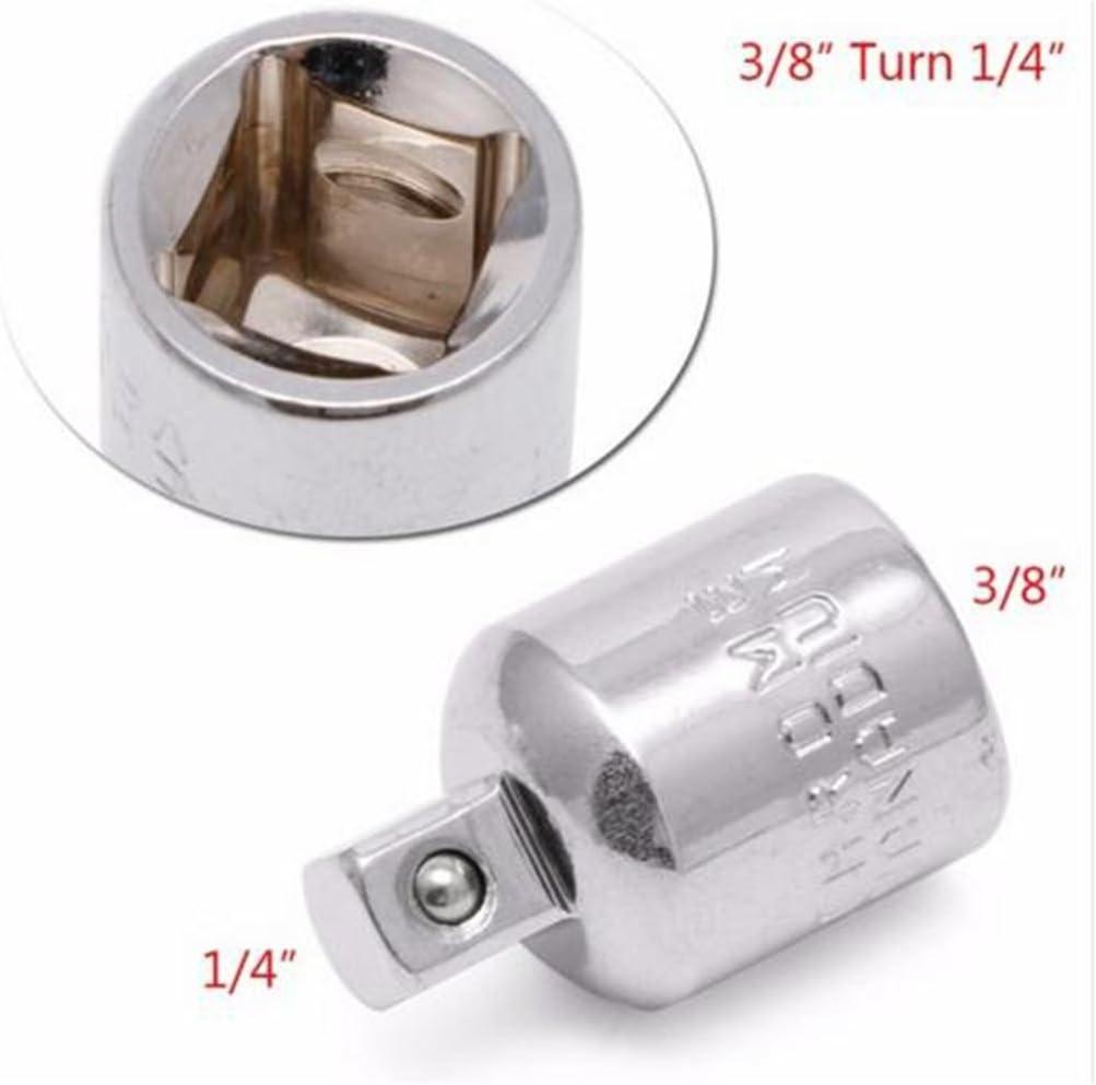 PRENKIN 3//8 Convert to 1//4 Kugelsperr Buchse Adapter Reducer Converter Tool f/ür Mechanik Engineers Tischler