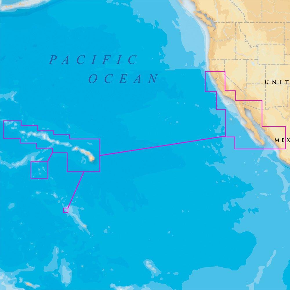 Amazon.com : Navionics Platinum Plus - Hawaii, California South to ...