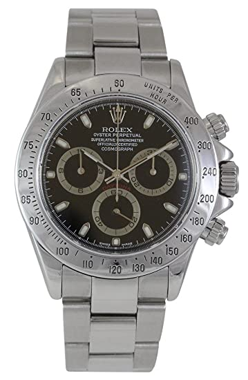 Rolex Daytona Cosmograph Stainless Steel with Blac 116520 - Reloj