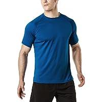 Tesla Men's HyperDri Short Sleeve Athletic T-Shirt Quick Dry Sports Top MTS30 MTS40