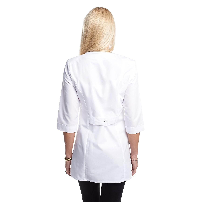 Vest Albus Bata Laboratorio Mujer Medida: Amazon.es: Ropa y ...