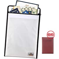 Teromas Fire and Water Resistant Document Folder Case