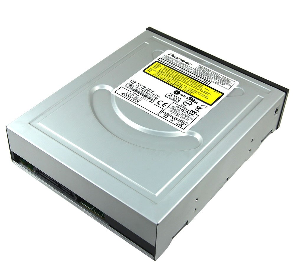 New Internal Dual Layer 12X 3D Blu-ray Burner SuperMulti BD-RE BD-R DL 50GB BDXL Blue-ray Writer Pioneer BDR-206 SATA DVD Optical Drive for Desktop Computer