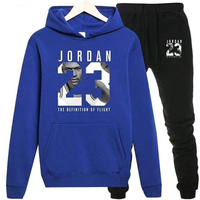 Amazon.com: Jordan Hoodies Jordan 23 Sportwear - Conjunto de ...