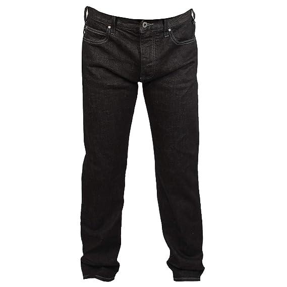 b54a316e Emporio Armani J21 Mens Black Jeans W30 L30: Amazon.co.uk: Clothing