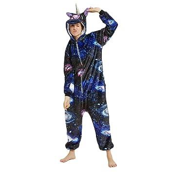 elegante nello stile prezzi incredibili fashion style JYSport, pigiama unisex in pile, con motivo: unicorno, con ...