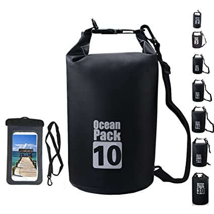 b819389511 2L 3L 5L 10L 15L 20L 30L Waterproof Dry Bag with Waterproof Phone Case Dry  Gear Bags Roll Top Dry Sack for Kayaking Boating  Rafting Fishing   Beach Camping  ...