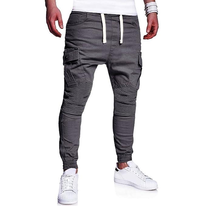 Jogger Jogging Sport Pantalon Survêtement Mcys De Fit Hommes Homme Coton Slim QCxBroeWd