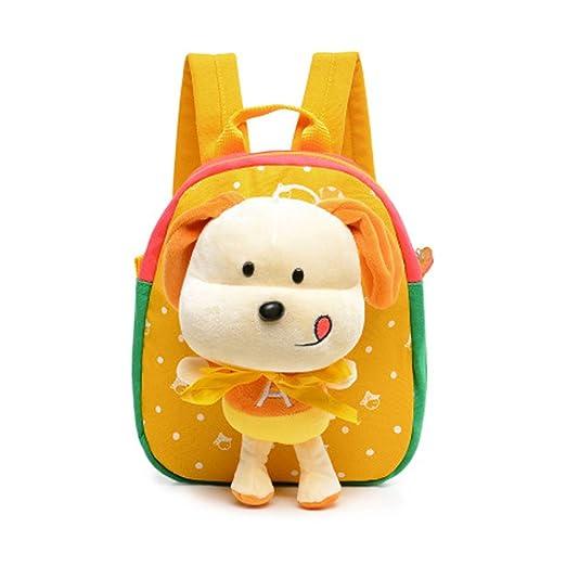 aad1e658d3 Cute Animal 3D Puppy Dog Canvas Toddler Waterproof Backpack Dolls Kids  School Book Bag Kids Snack