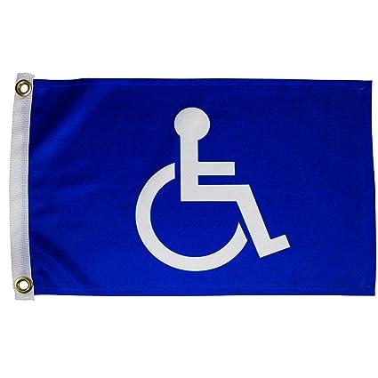 Amazon.com: Búsqueda n rescate Unisex Handicap bandera 12 x ...