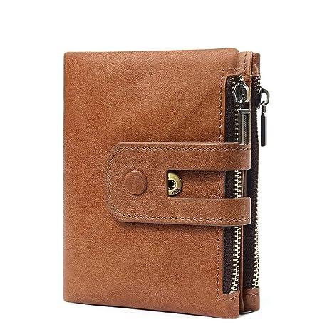 Monedero de bolsillo para hombre RFID Bloqueando Bifold Para ...