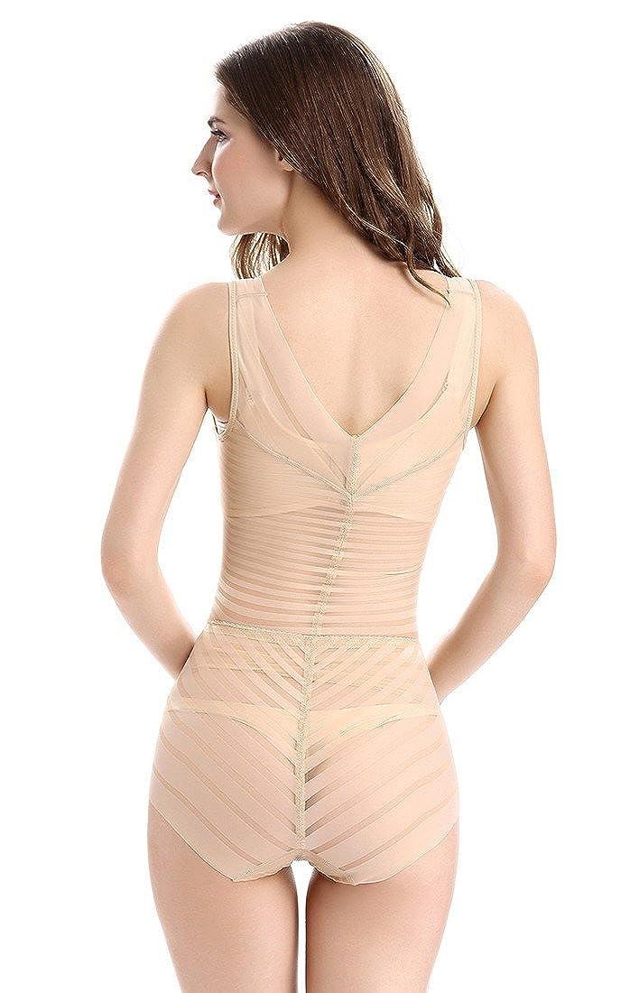 Aivtalk Gaine Combinaison Femme Body Minceur Efficace Lingerie Sculptante  Amincissant Respirant Galbante Shapewear Corset 2 Couleurs L-2XL   Amazon.fr  ... 81e2ae118b6