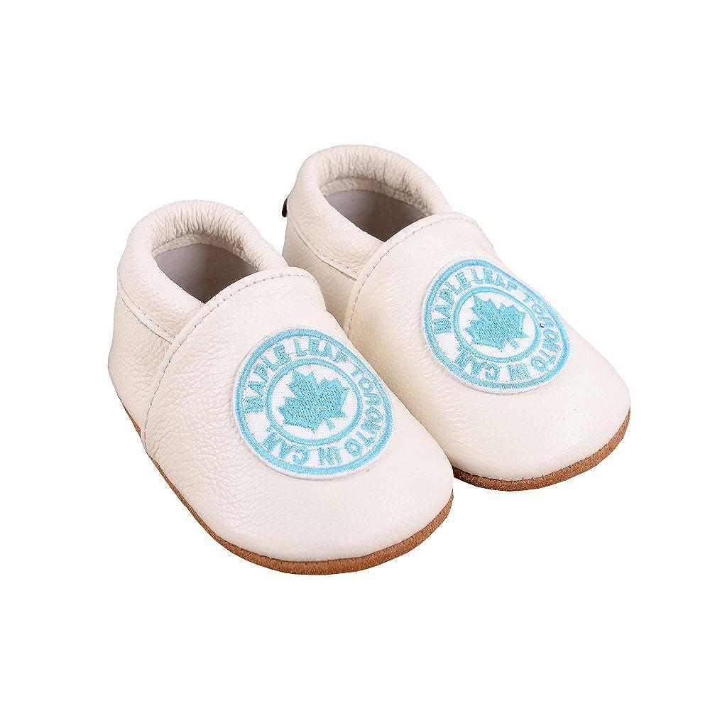 Vesi Baby Shoes for Boys//Girls Soft Leather Non-Slip Sole Pre Walker Toddler Infant