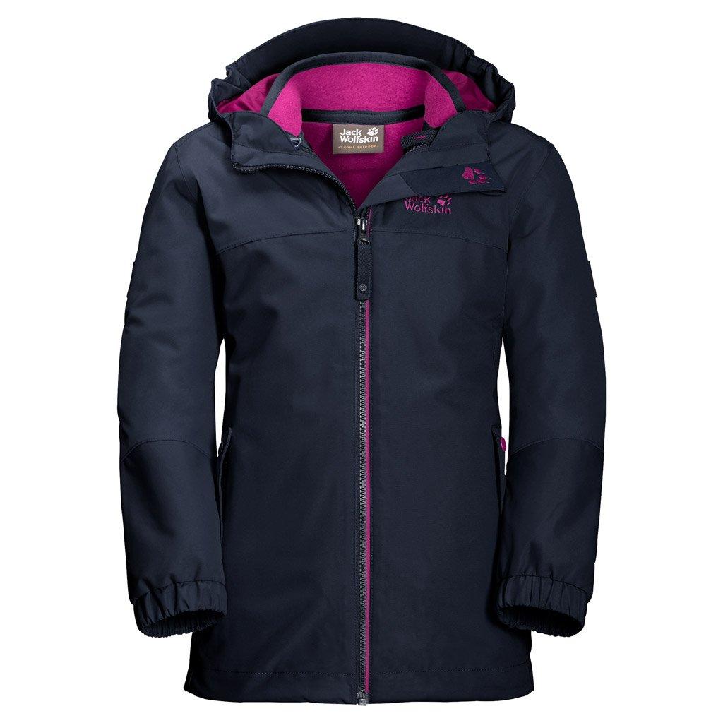 Jack Wolfskin Girls Iceland 3 in 1 Jacket Midnight Blue 116