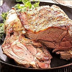 ジンギスカン 肉 ラム肉 ブロック 約1kg (ショルダー/冷凍) 業務用 羊肉 BBQ 北海道