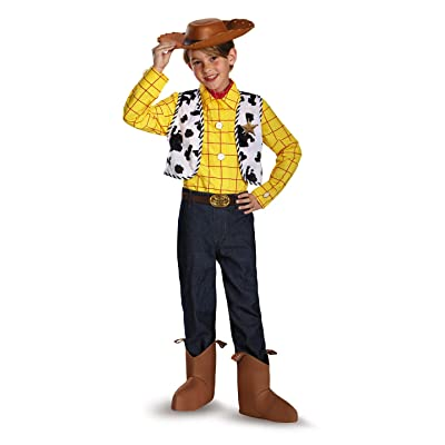 Disguise Disney Pixar Toy Story and Beyond Woody Prestige Boys Costume, Small/4-6: Toys & Games