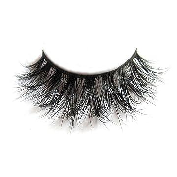 affa400197a Most fashionable 3D style mink fur false eyelash for makeup, reusable and  comfortable; Made of 100% siberian ...