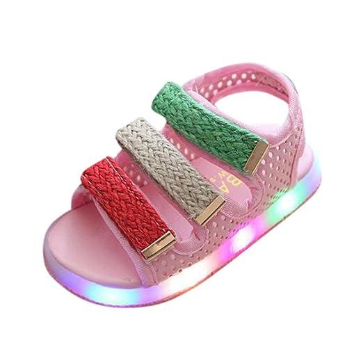 30a26abab LED Sandalias de Verano Xinantime Toddler Kids Sandalias Deportivas Zapatos  Summer Boys Girls Sandalias de bebé