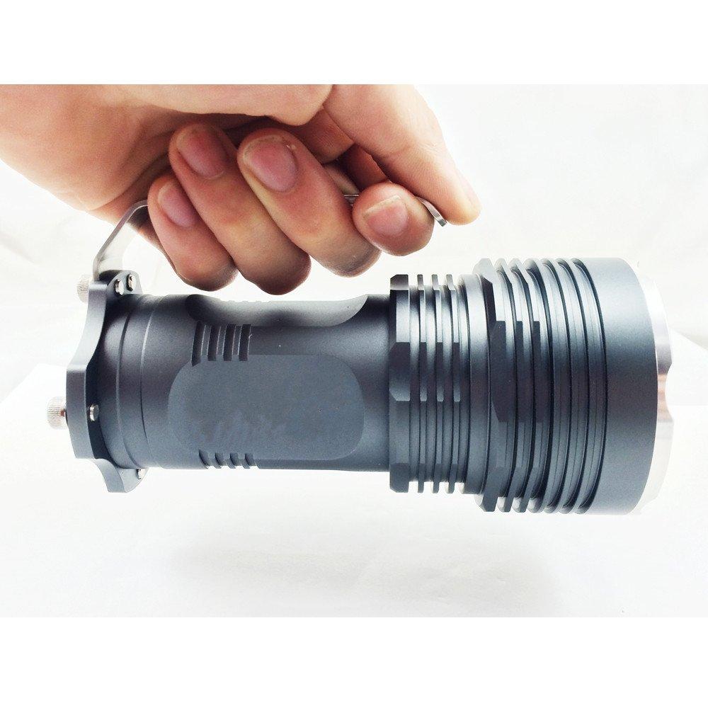 USUN Nueva 6500lm 5 x CREE XML L2 LED 18650 Linterna Lámpara de Luz: Amazon.es: Jardín