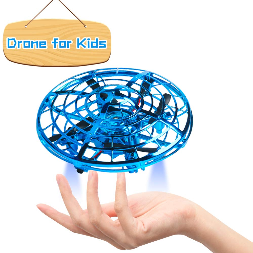 Flashbee F17 Mini Drones for Kids,Hand Controlled,UFO Pocket RC Quadcopter,Infrared,Altitude Hold,Indoor Outdoor,Shake /& Throw to Fly for beginners and Childrens
