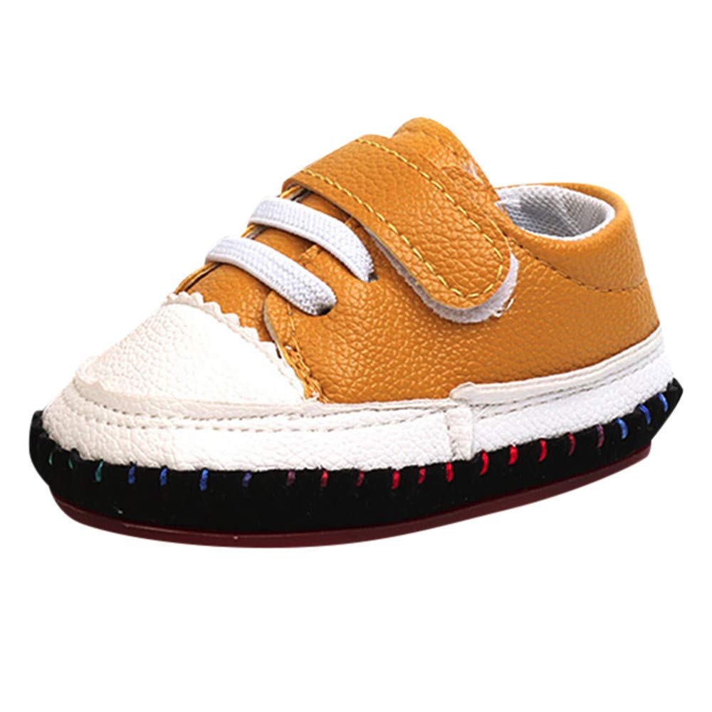 Toddler//Little Kid Boys Girls Striped Splice Shoes Kids Casual Soft Sole Sneakers