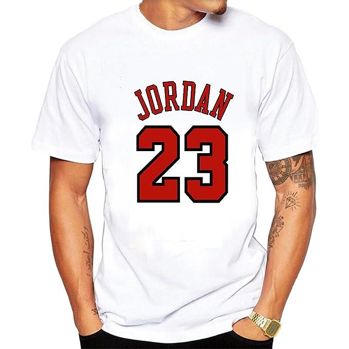 Siete lobo Michael Jordan Chicago Bulls 23 Camiseta: Amazon.es: Ropa y accesorios
