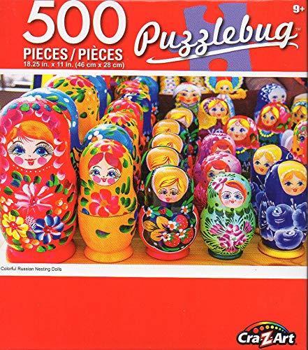 "Lot of 10 Assorted Puzzlebug CraZart 18.25/"" X 11/"" 500 Small Piece Puzzles"