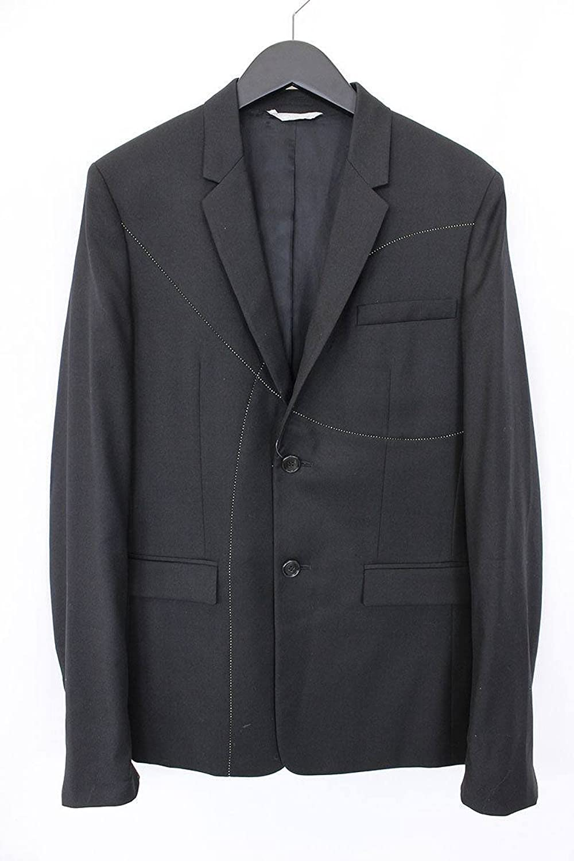 (ディオールオム)Dior HOMME ステッチデザインテーラードジャケット(44/ブラック) 中古 B0785SF7KK  -