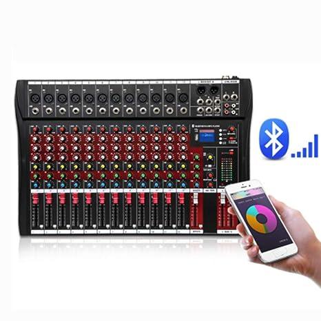 Consola de mezclas de audio Color Rojo 12-canales del ...