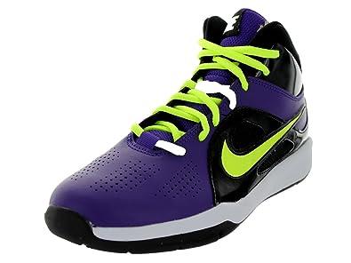 Amazon.com: Nike Kids Team Hustle D 6 (GS) corte púrpura ...