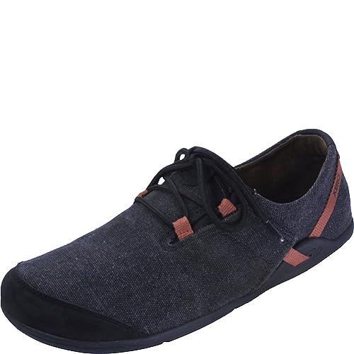 Xero Shoes Casual Canvas Barefoot-Inspired Shoe - Men s Hana - Black Rust  6.5 a7e911adbf0