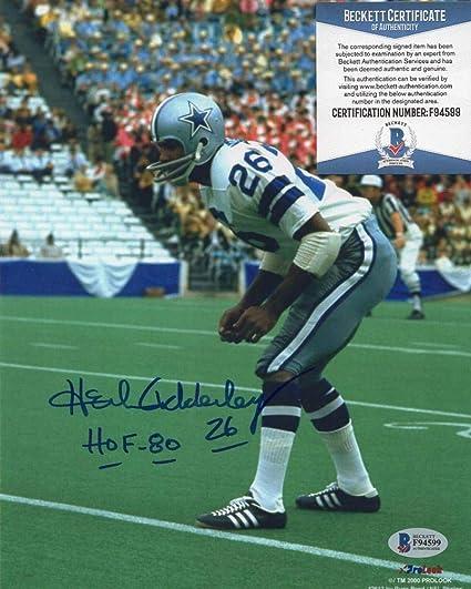 Autographed Herb Adderley Photograph - Hof 80 8x10 Beckett F94599 - Beckett  Authentication - Autographed NFL a5d0231b2
