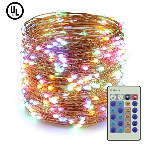 300 Count Led Multi Color Micro Christmas Lights in Florida - 5