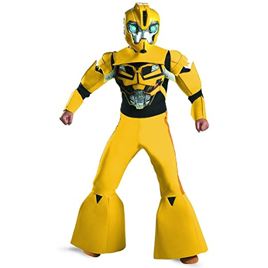 Amazon.com  Bumblebee Animated Deluxe Costume - Large  Clothing 55dc4d1fe