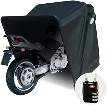 Quictent® Heavy Duty Motorcycle Shelter Shed Tourer Cover Storage Tent//Small