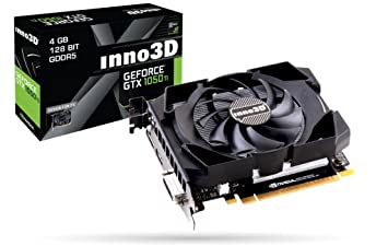 Inno3D Nvidia GTX1050 Ti 4GB Compact GDDR5 Gaming Graphic Card Graphics Cards at amazon