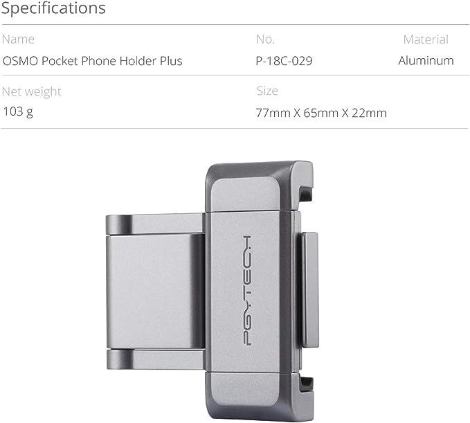 PYGTECH OSMO - Soporte de teléfono de Bolsillo: Amazon.es: Electrónica
