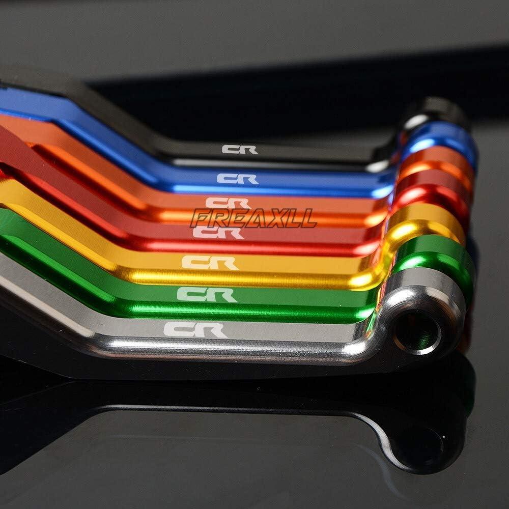 Color : Black YUQINN Motorradteile For Honda CR125R CR 125 R 1992-2007 1993 1994 1995 1996 1997 1998 1999 Motorrad Pivot Dirt Bike Bremskupplungshebel Motorrad