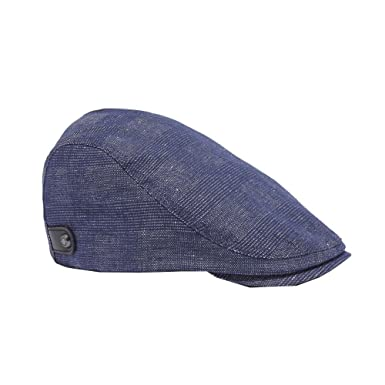 3293cba70 Ted Baker Cristan Navy Flat Cap S-M: Amazon.co.uk: Clothing