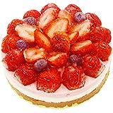 苺たっぷりあまおうのアイスケーキ(5号)