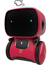 GILOBABY Kid Intelligent Robot Toys- Voice& Touch Control, Children Smart Robotic Toys for Girls, Toys Gift for age 3-9 year old birthday- Girls Boys- Dance&Sing&Walk, Recorder&Speak Like You