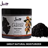 Jeva Activated Charcoal Face Pack with Argan Oil, 100g