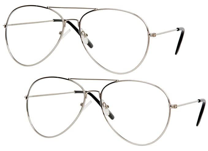b4718c547d1 Image Unavailable. Image not available for. Color  Gravity Shades Clear  Lens Aviator Sunglass ...