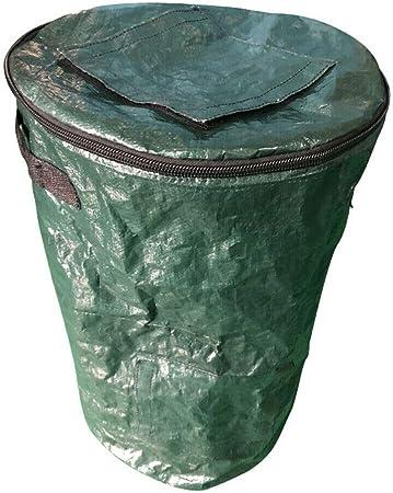 AYEMOY Bolsa De Compostaje, Compost Bin Garden, Sacos De Jardín Autoportantes, Plegables Y Robustos Saco De Basura Verde Saco De Hojas Saco De Basura De Jardín (35x60CM): Amazon.es: Hogar