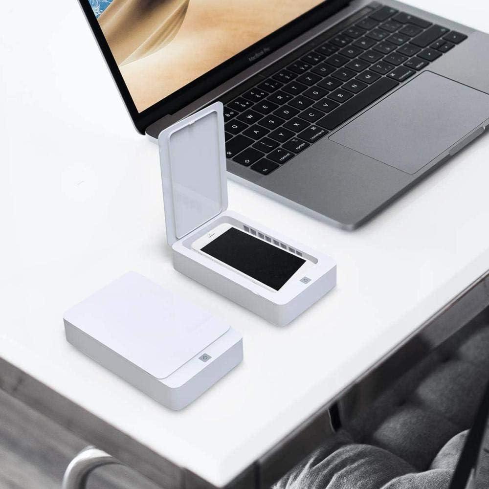 UV-Handy-Sterilisator-Box///Tragbare multifunktionale Ultraviolett-Desinfektionsbox-Schwarz