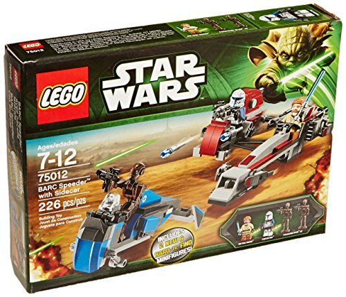 Lego Starwars 75012 BARC Speeder with Sidecar Lego Star Wars overseas direct delivery products and parallel import goods   B01KBSOW6S