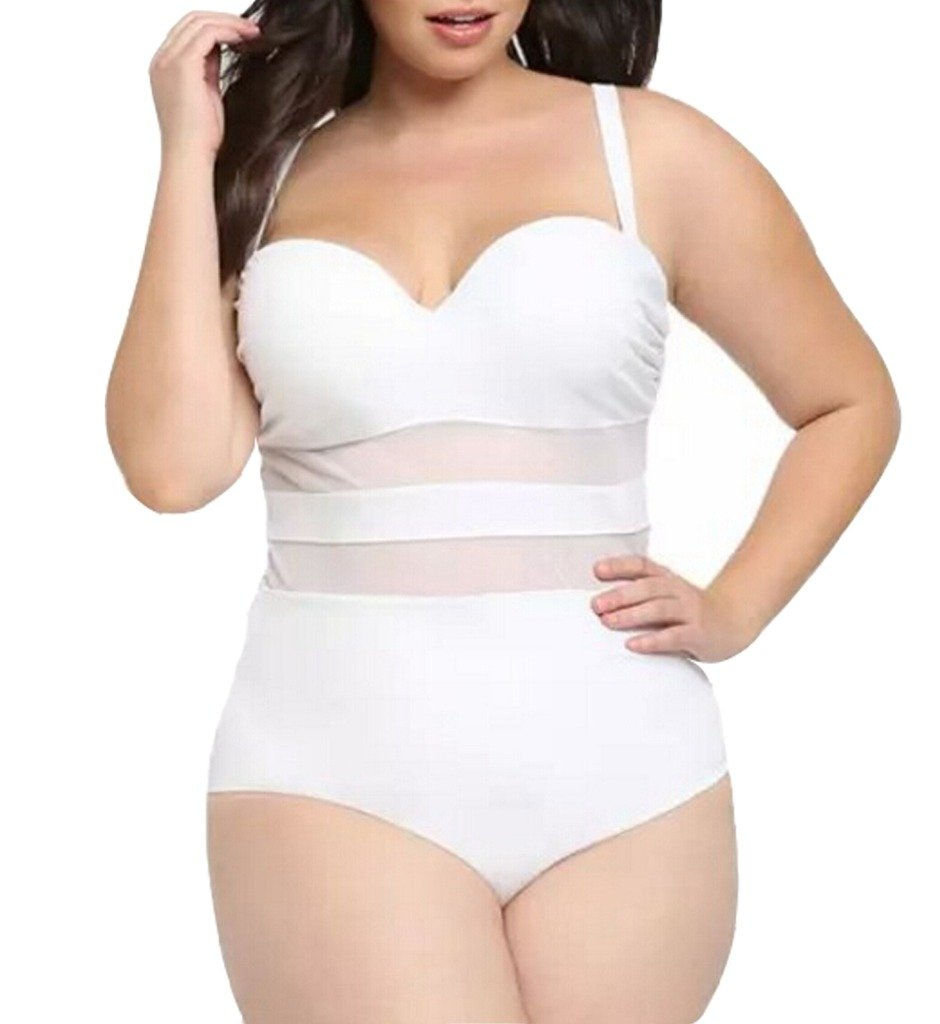 Eternatastic Women's Summer One-piece Monokini Swimsuit Swimwear Plus Size Sw-OnePCS