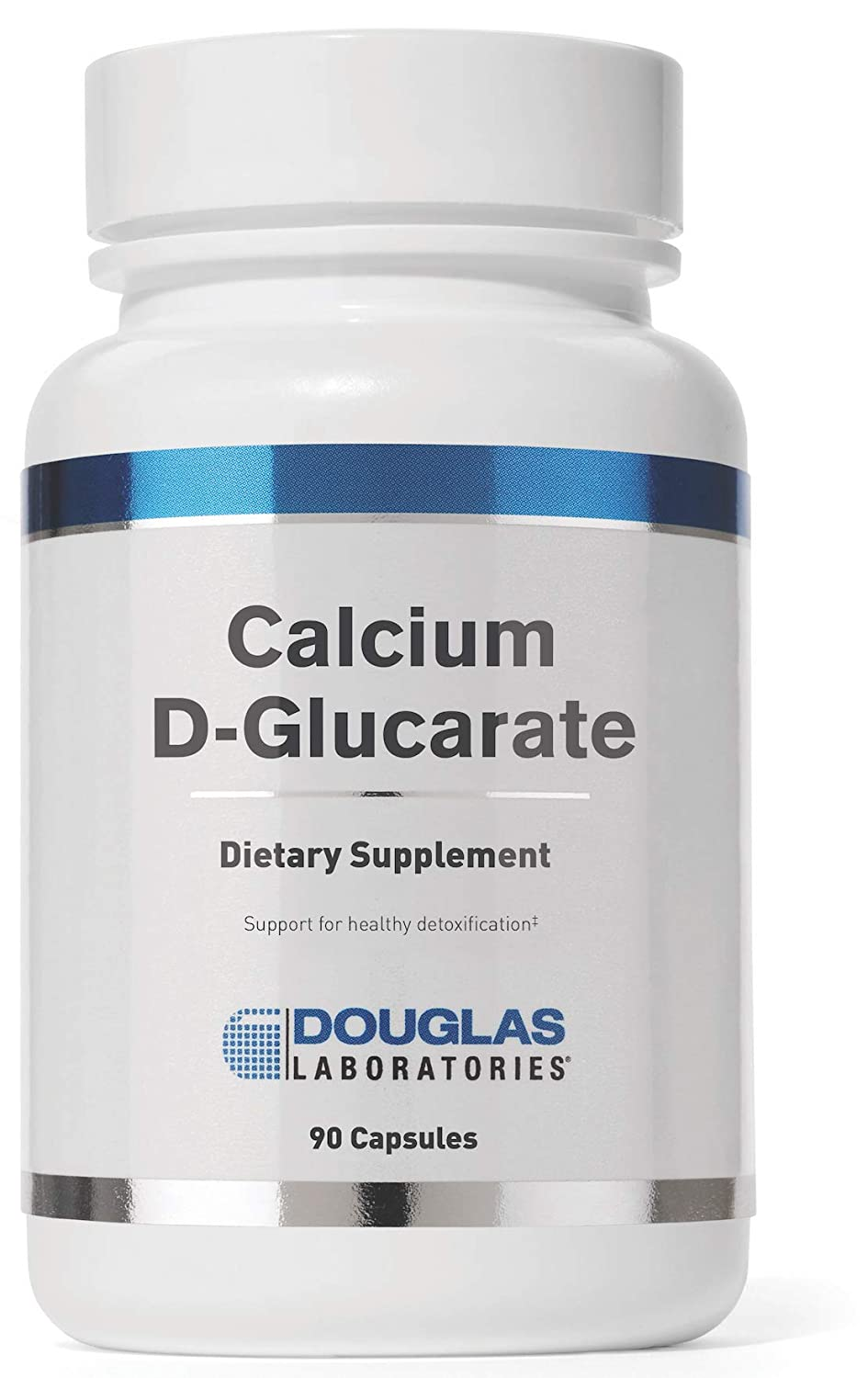 Douglas Laboratories – Calcium-D-Glucarate 500 mg. – Support Against Environmental Toxins and Excess Steroid Hormones* – 90 Capsules