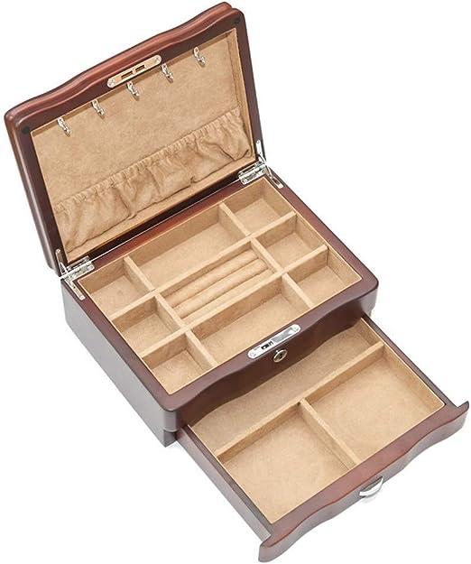 Jewellery Box Joyero Viaje Caja De Joyería, 2 Capas Joyeros De ...
